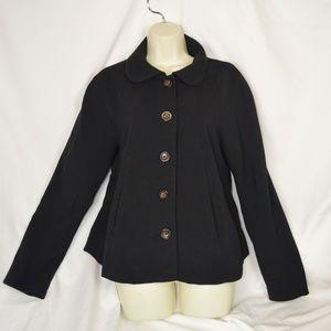 Forever21 Black Lightweight Coat / Jacket L